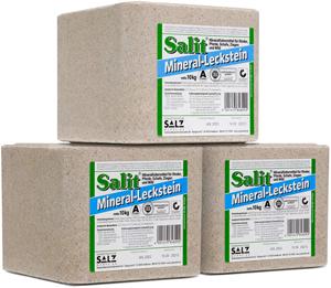 drei Salit Mineral-Lecksteine